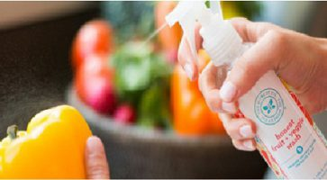 Uklanjanje ostataka pesticida sa hrane koju jedete pomoću napravi sam spreja